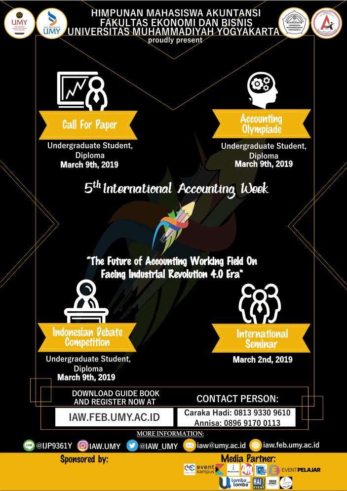 International Accounting Week 2019 UMY