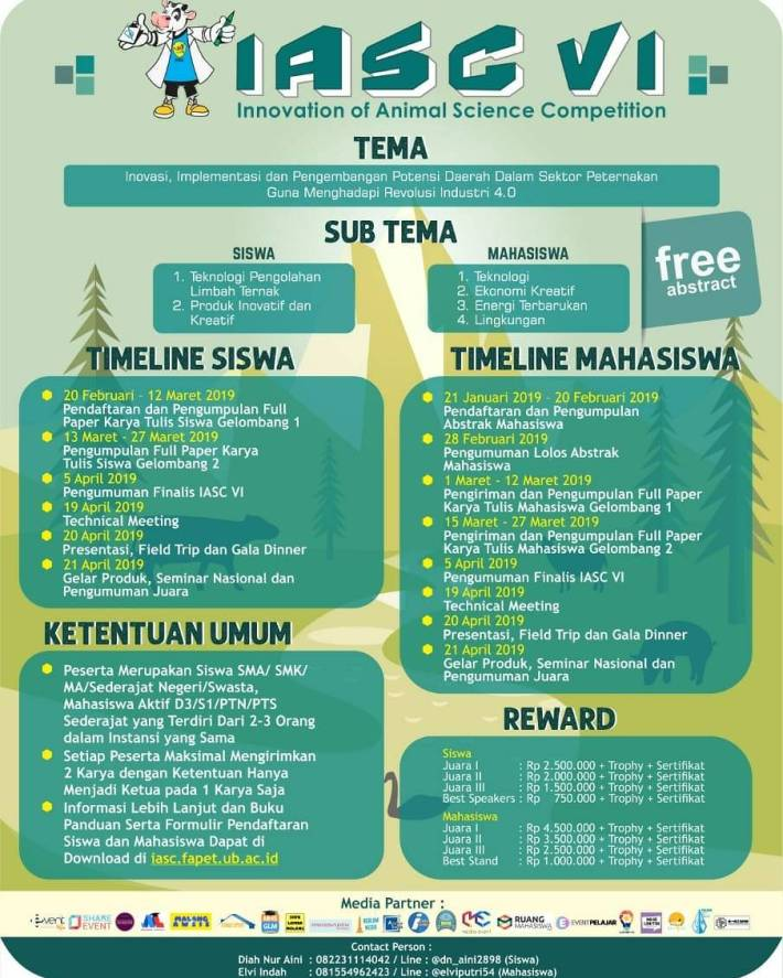 Innovation of Animal Science Competition