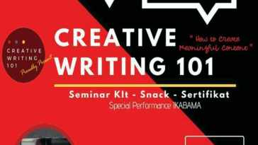 seminar dan workshop Creative Writing 101