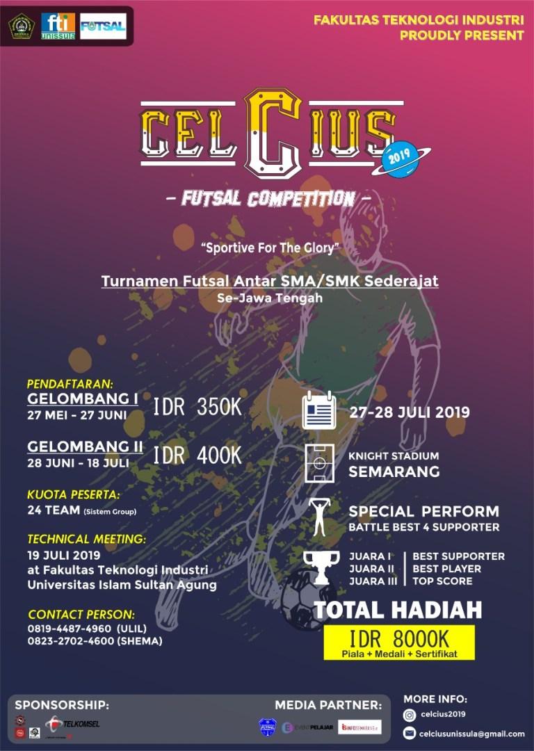 Futsal Competition CELCIUS 2019