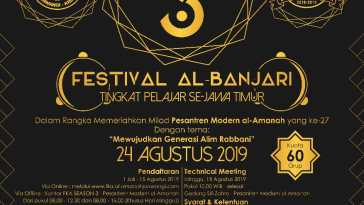 Festival Kemilau Al-Amanah Fesban Jatim 2019
