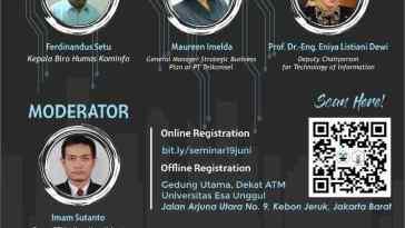 Seminar Umum Menghadapi Revolusi Teknologi di Indonesia