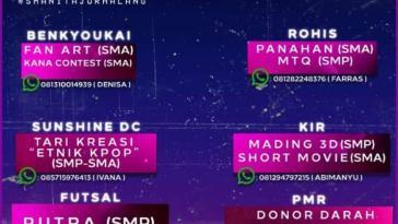 SMARHTCUP 2019 Sman 1 Tajurhalang CUP