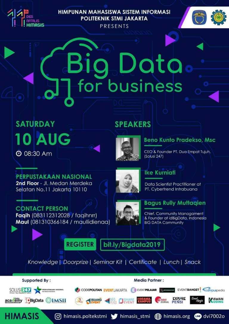 Seminar Big Data Himasis Politeknik STMI Jakarta