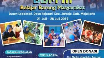 BELAJAR BARENG MASYARAKAT III