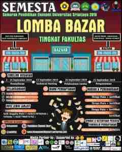 Lomba Bazar Universitas Sriwijaya
