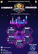 CHAMPIONSIX CUP 2019 SMAN 6 SURABAYA