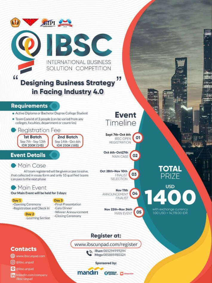 IBSC - International Business Solution Competition