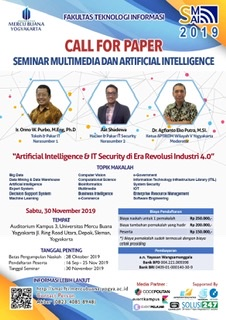 Call for Paper - Seminar Multimedia Artficial Intelligence 2019