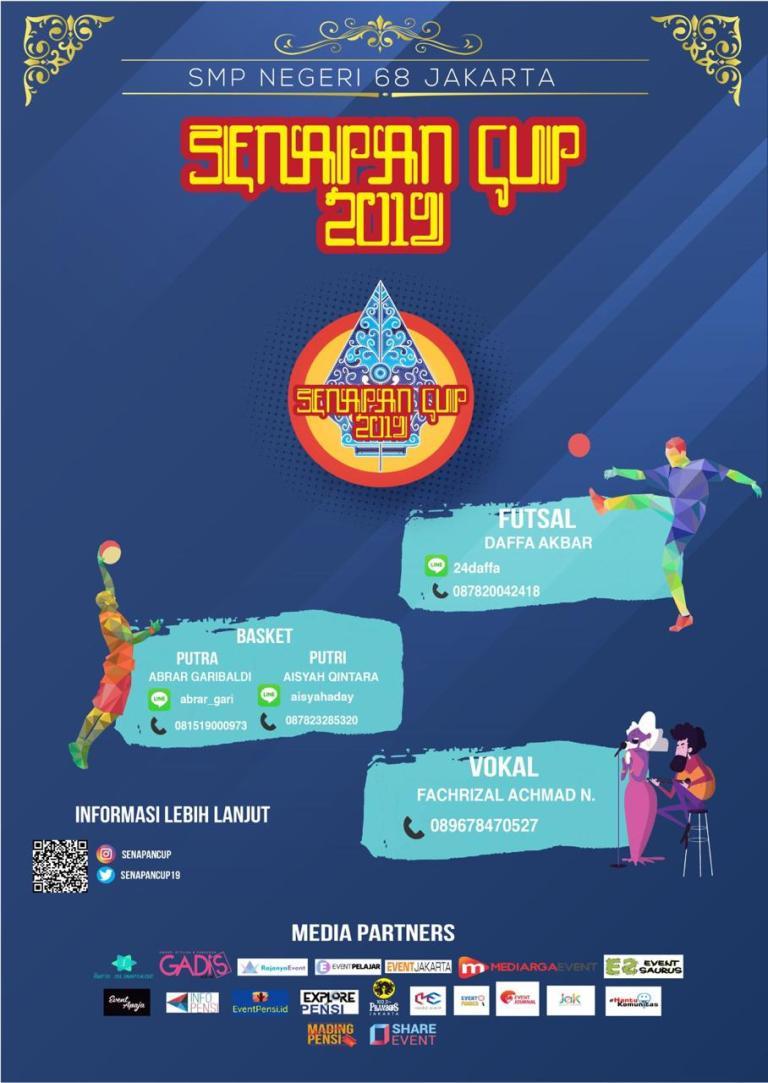 Senapan Cup 2019 SMP Negeri 68 Jakarta