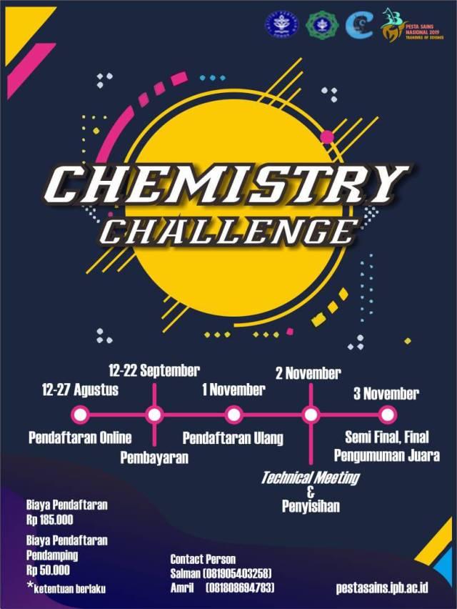 Chemistry Challenge 2019