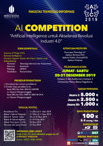 AIC FTI - Artificial Intelligence Competition 2019