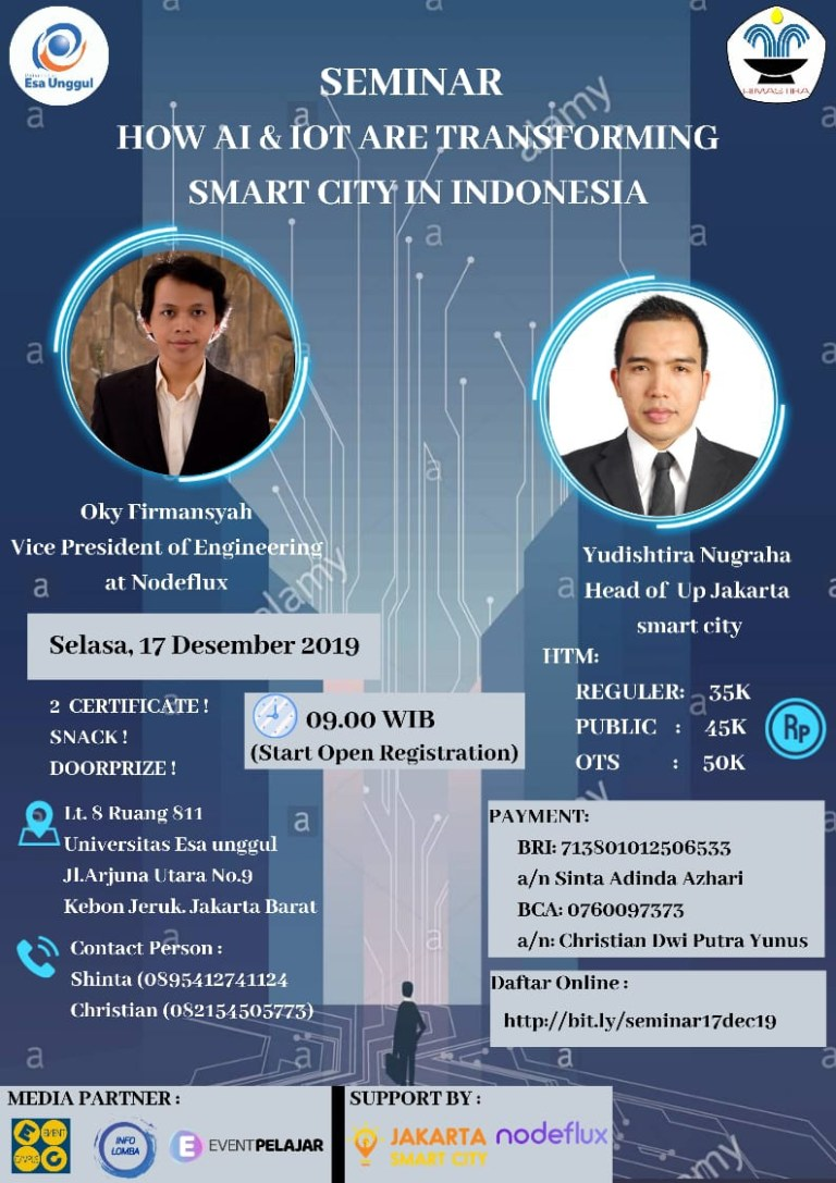 """Seminar """"How AI & IoT Are Transforming the Smart City in Indonesia"""""""
