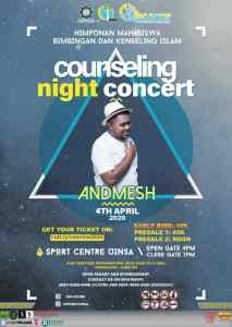 COSNICE COUNSELING NIGHT CONCERT