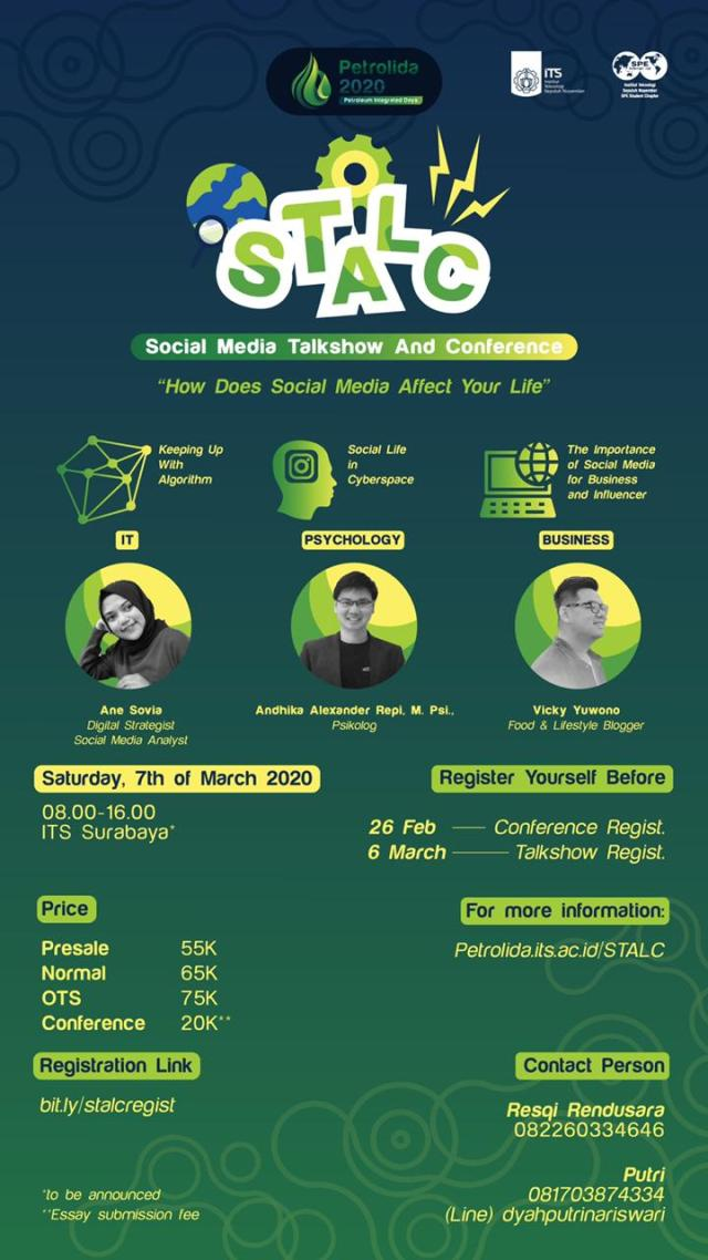 STALC: SOCIAL MEDIA TALKSHOW AND CONFERENCE