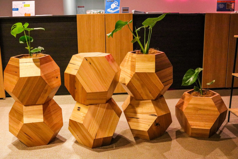 hex planter event plants hire melbourne