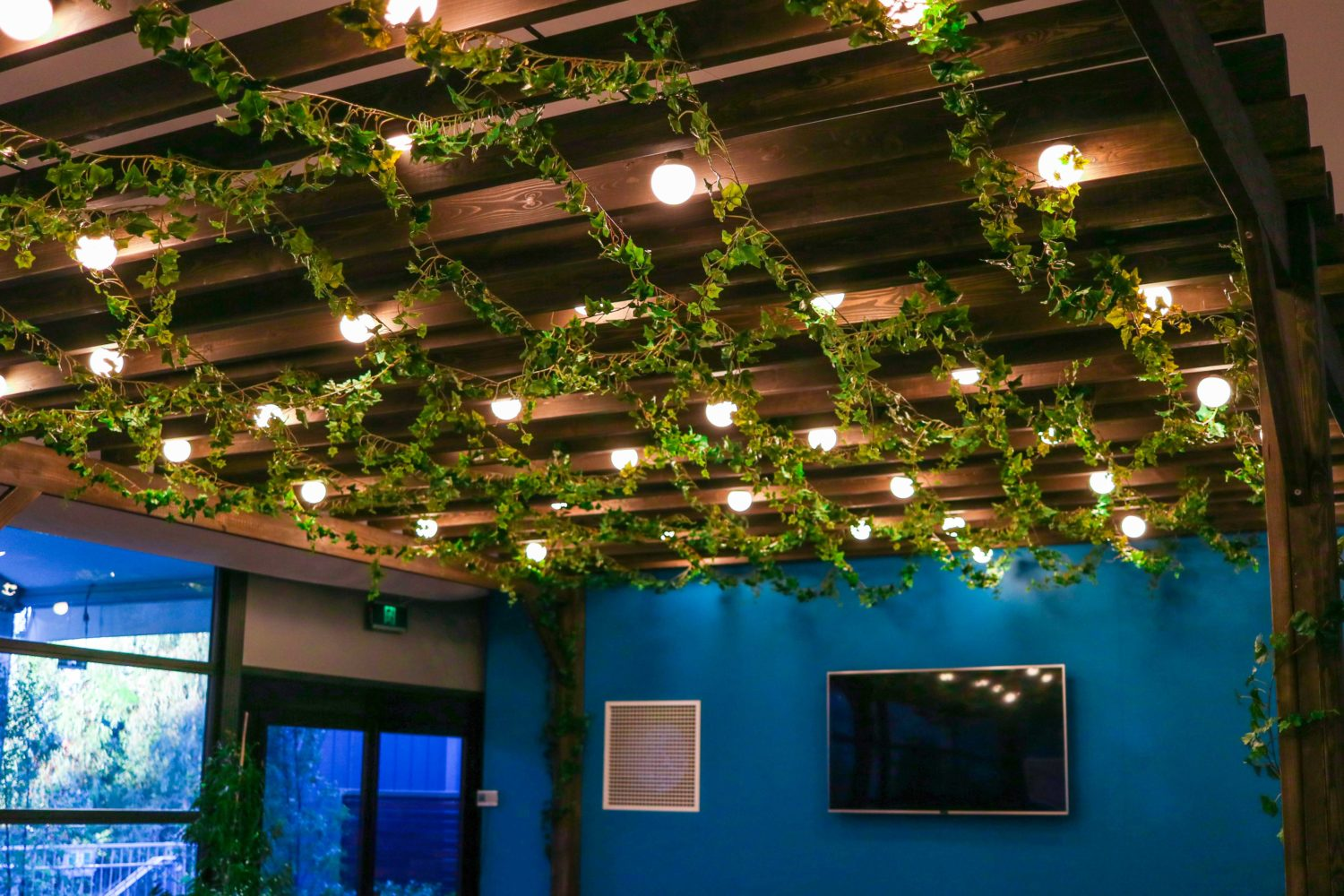 Interior styling garland event plants melbourne hire