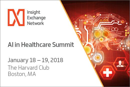 AI in Healthcare Summit – Bostin – 18th/19th Jan 2018