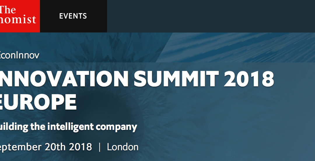 The Economist Innovation Summit 2018 – Sept 20th