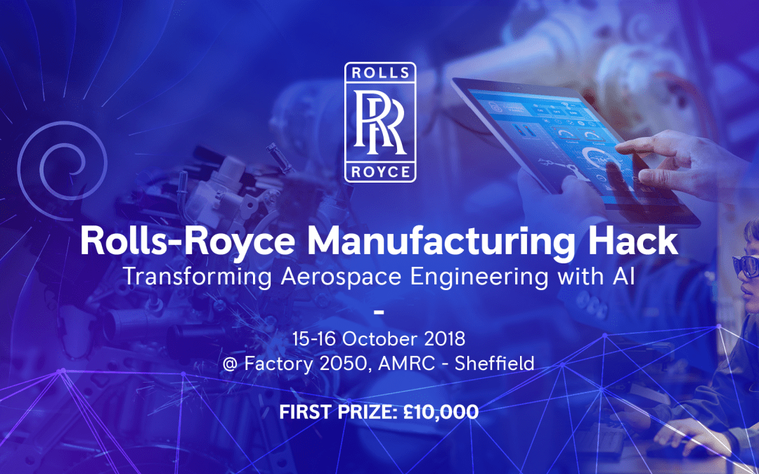 Rolls-Royce is looking for tech talent – Sheffield – October 15th-16th