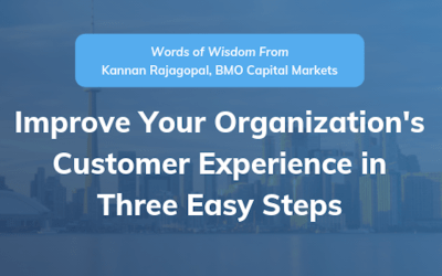 Improve Your Organization's Customer Experience in Three Easy Steps