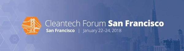 Cleantech Forum San Francisco 2018 - cleantech events