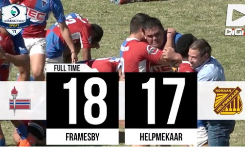 Highlights – Framesby vs Helpmekaar