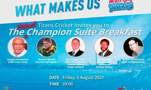 The Champions Suite Breakfast | Titans Cricket