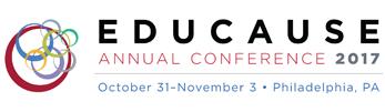 EDUCAUSE annual conference, 2017