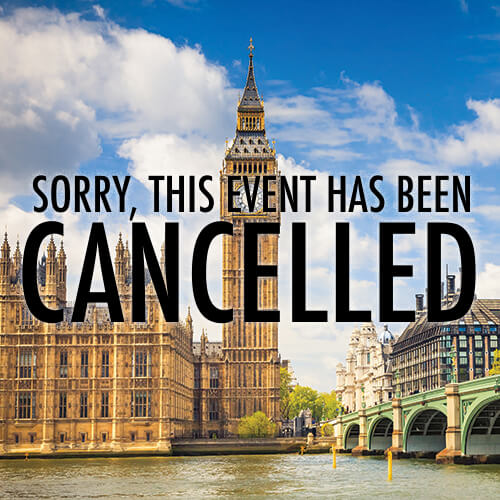 TeaTime in Britain - Sorry this event has been cancelled