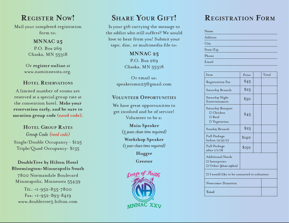 MNNAC 25 Registration Flyer2