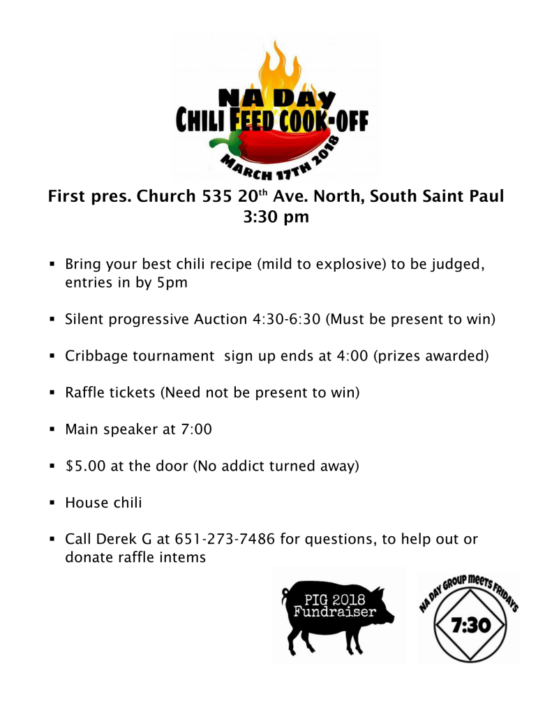 Chili Feed Flyer