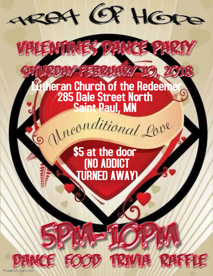 Area Of Hope Valentines Dance Na Minnesota Events