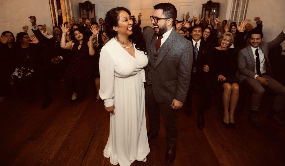 A couple at our Washington DC Wedding Venue