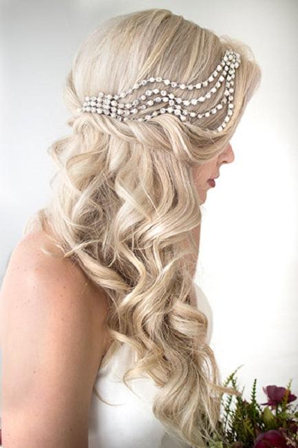 Popular Wedding Hair Styles For Long Hair Festival