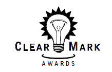 Graphic for the ClearMark Awards logo