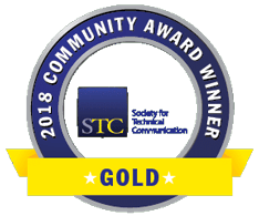 STC CAA 2018 Gold badge