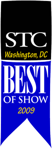 Competitions Best of Show ribbon