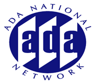 Graphic of the ADA National Network logo