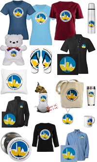photo of logo items for sale
