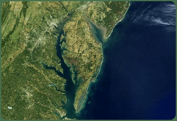 medium image of Chesapeake Bay and Mid Atlantic states