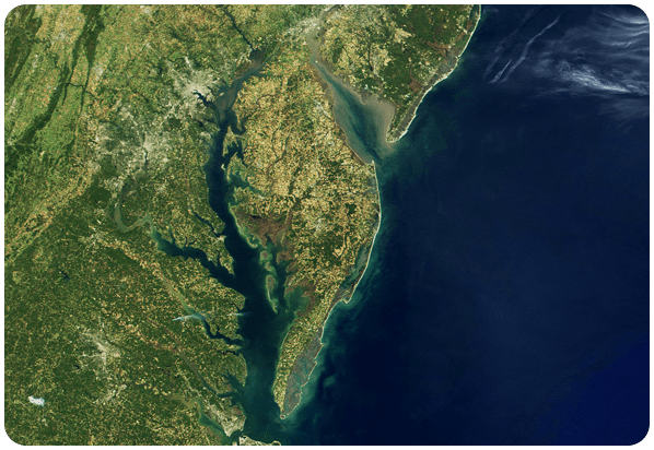 medium image of Chesapeake Bay and Mid Atlantic states