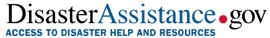 logo for DisasterAssistance.gov