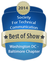 Competition Best of Show badge - 2014 164x208