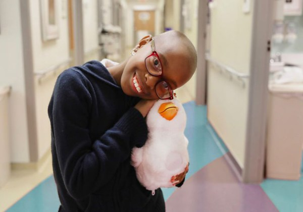 Warm, Cuddly…and Techy: A Social Robot for Kids with Cancer