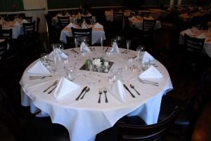 Restaurant style napkin fold