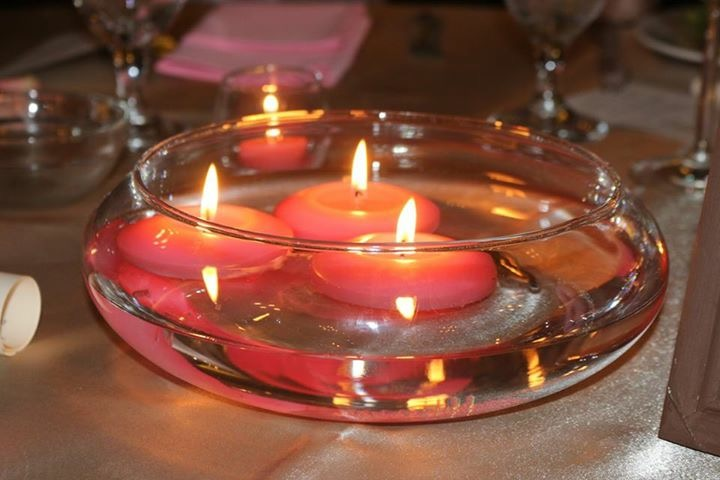 Floating Candle Bowl Image