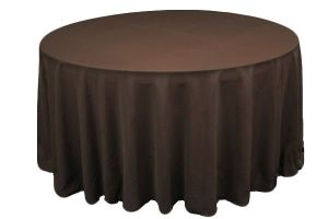 Chocolate Brown Tablecloths Image
