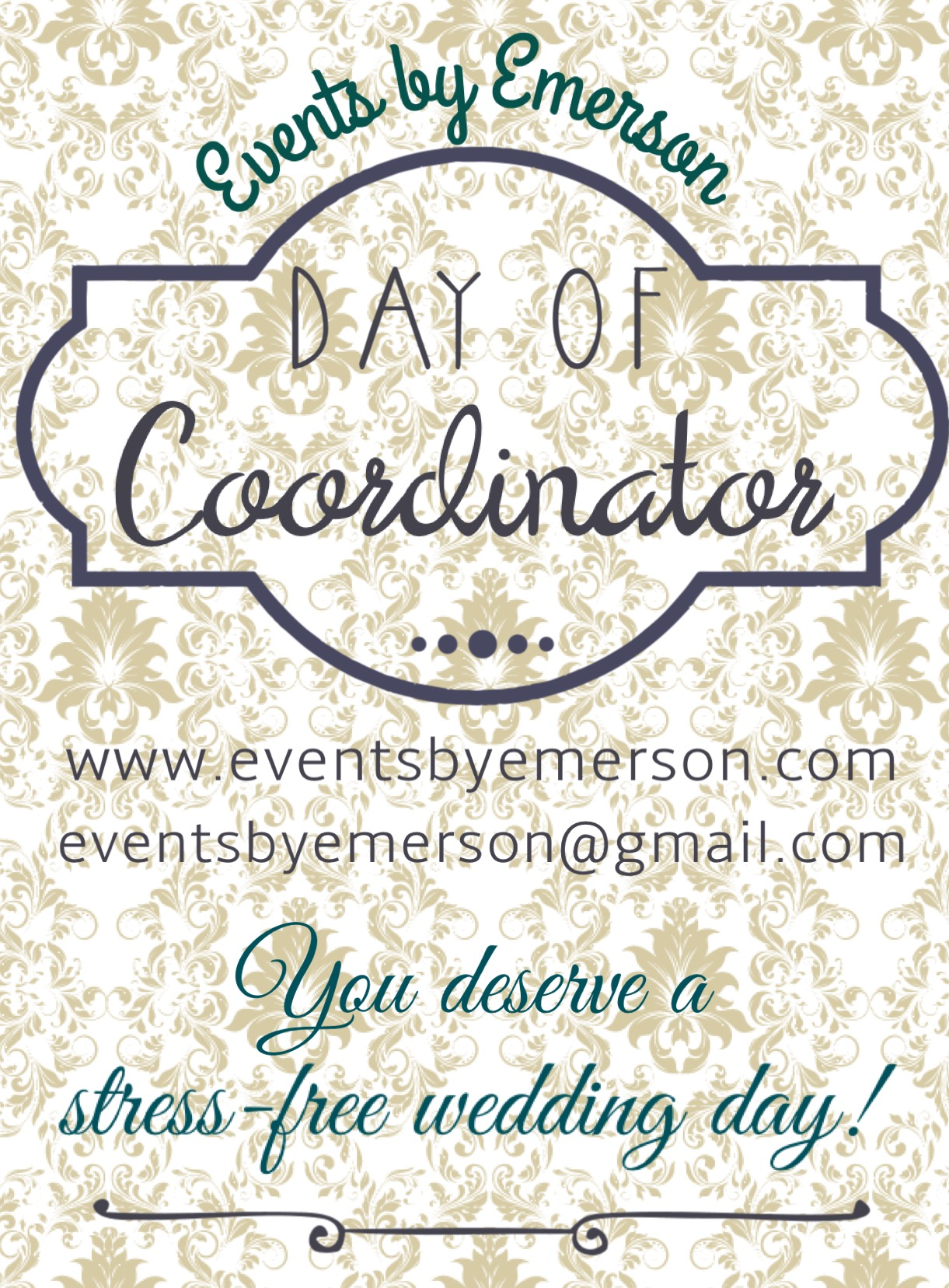 A Bit About 'Day Of' Coordination Services