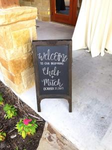 Events by Emerson - Chalkboard signs by Emily Vrzak